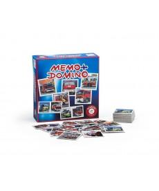 Tűzoltók Memo & Domino 2in1 Játékszett 659690