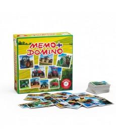 Traktor Memo & Domino 2in1 Játékszett 737596