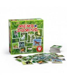 Állatos Memo & Domino 2in1 Játékszett 737596