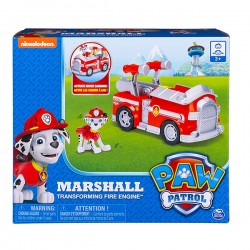 Spin Master Mancs őrjárat: Marshall átalakuló járműve figurával dobozban 605898