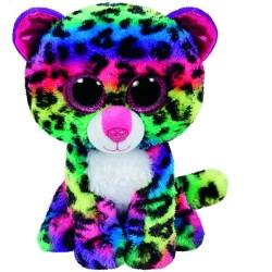 TY BOOS pluss figura DOTTY- 42 cm - szines leopard TY36837