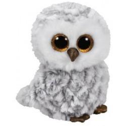 TY Inc Owlette bagoly plüssfigura - fehér, 42 cm TY36840