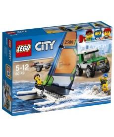 LEGO CITY TEREPJARO KATAMARANNAL 160149