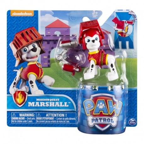 Mancs Õrjárat Hero Pup Átalakítható Kutyus Mission Quest Marshall Akciófigura 6026592