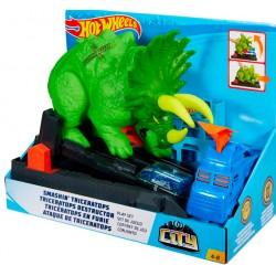 Mattel Hot Wheels: Hatalmas triceratops pálya GBF97