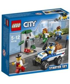 LEGO CITY RENDORSEGI KEZDO KESZLET 160136