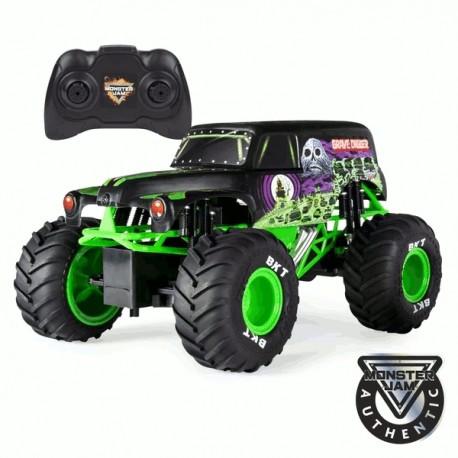 Monster Jam RC távírányítós autó - Grave Digger, 1: 15 (6045003)