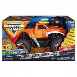 Monster Jam RC távírányítós autó - El Toro Loco, 1: 15 (6044992)