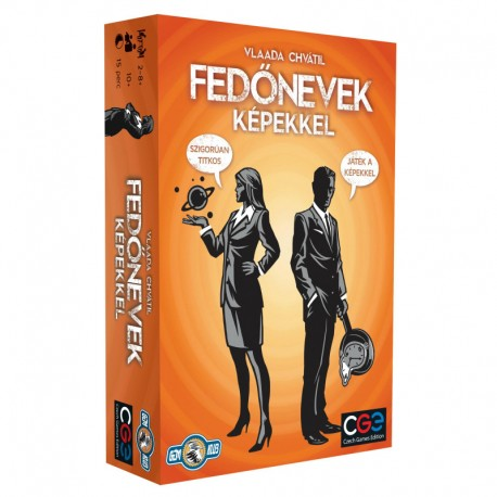 Czech Games Edition Fedőnevek - Codenames társasjáték 750048