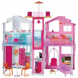 Mattel Barbie Három szintes villa DLY32