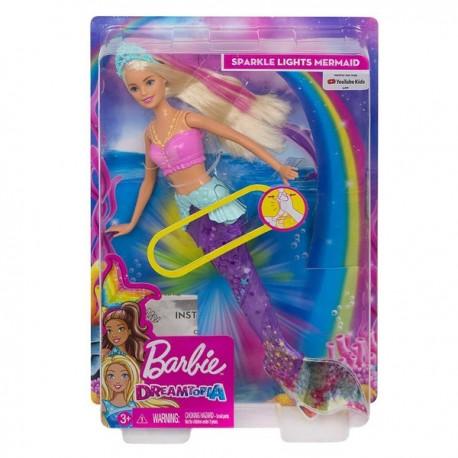 Barbie Dreamtopia: Úszó varázssellő GFL82