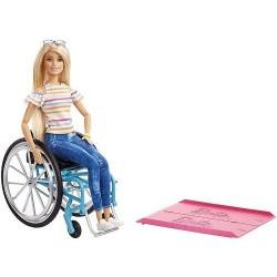Barbie: Kerekesszékes baba GGL22