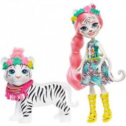 Enchantimals: Tadley Tiger and Kitty figura FKY72