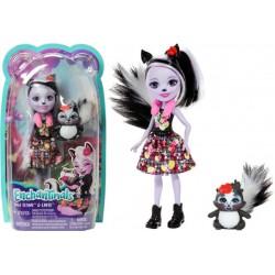 Enchantimals Baba állatkával - Sage Skunk és Caper figura DVH87