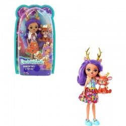 Enchantimals Baba állatkával - Danessa Deer és Sprint figura DVH87