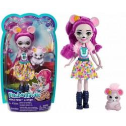 Enchantimals Baba állatkával - Mayla Mouse és Fondue figura FNH22