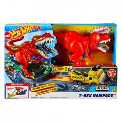 Hot Wheels: T-Rex zúzó pályaszett GFH88