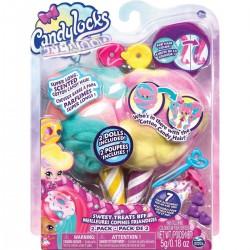 Candylocks: Jilly Jelly és Donna Nut Vattacukor Babák 6052312