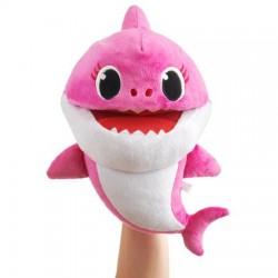 Smartplay Baby Shark cápa család ütemre zenélő plüss - Anya cápa
