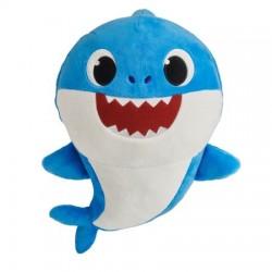 Smartplay Baby Shark cápa család zenélő plüss - Apa cápa