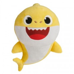 Smartplay Baby Shark cápa család zenélő plüss - Bébi cápa