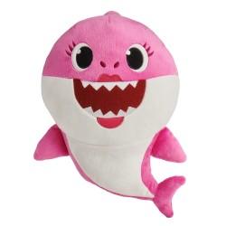 Smartplay Baby Shark cápa család zenélő plüss - Anya cápa