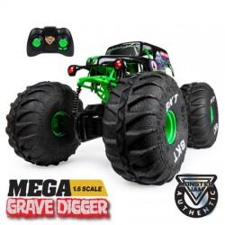Monster Jam RC: Mega Grave Digger távirányítós autó - 70 cm 6046198