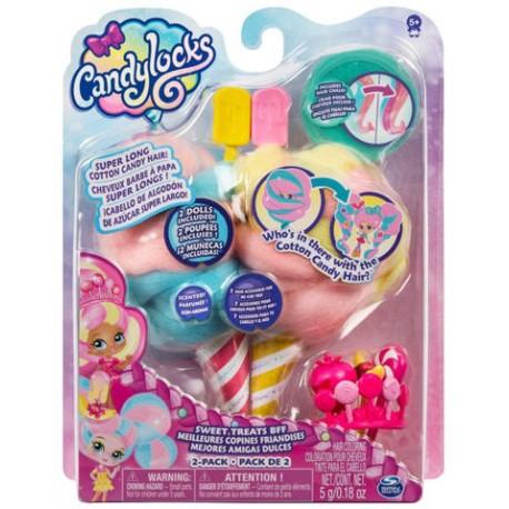 Candylocks: Kerry Berry és Beau Nana vattacukor babák 6052312