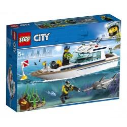 LEGO CITY - Búvárjacht 60221