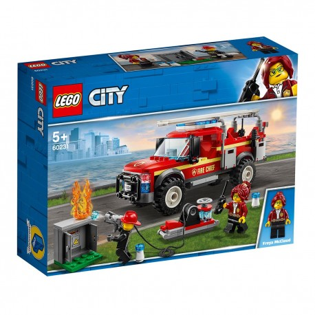 LEGO CITY - City Tűzoltó-parancsnoki rohamkocsi 60231
