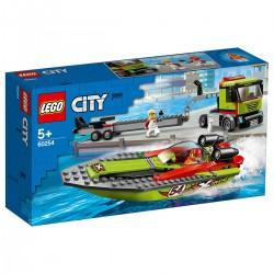 LEGO CITY - Versenycsónak szállító 60254