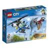 LEGO CITY - Légi rendőrségi drónos üldözés 60207