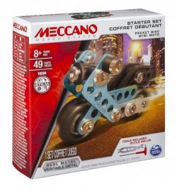 Meccano: Motor fém építő kezdőszett 6026713