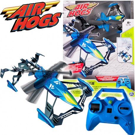Air Hogs Switch Blade Távirányítós Helikopter (Kék) 6027811