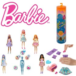 Barbie: Color Reveal meglepetés baba GTP42