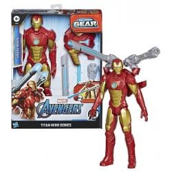 Bosszúállók: Titan Hero Vasember 30cm-es figura+kiegészítő E73805