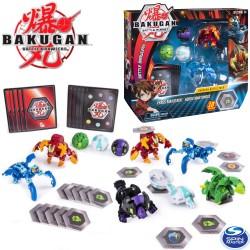Bakugan: 5 db-os harci csomag - Pyrus Maxataur&Aquos Mantonoid 6045132
