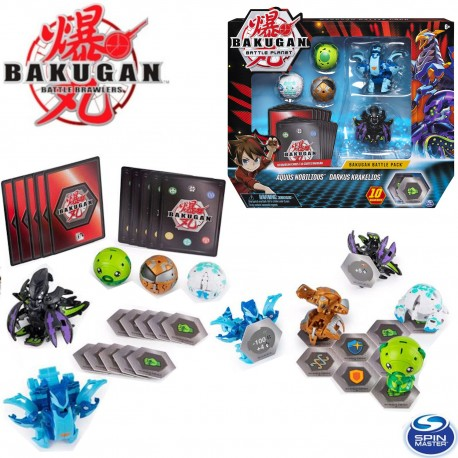 Bakugan: 5 db-os harci csomag - Aurelus Lupitheon&Haos Vicerox 6045132