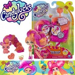 Candylocks: Posie Peach és Fin Chilla baba állatkával 6056250
