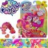 Spin Master Candylocks: Posie Peach és Fin Chilla baba állatkával 6056250