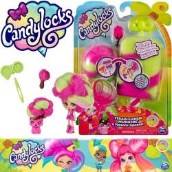 Candylocks: Straw-Carrie Mudslide és Squeaky Squirrel baba állatkával 6056250