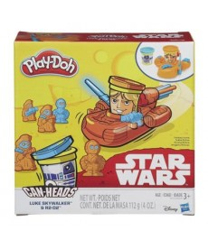 PLAY-DOH STAR WARS LUKE SKYWALKER AND R2-D2 60B595