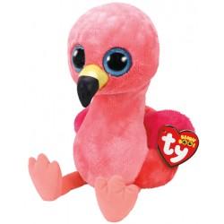 TY Beanie Boos plüss figura- 42 cm- GILDA, rózsaszín flamingó TY36892