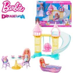 Barbie Dreamtopia: Chelsea sellő kastély játékszett FXT20