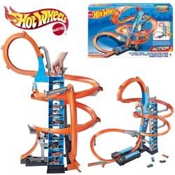 Hot Wheels: Ütközések a toronyban játékszett GJM76