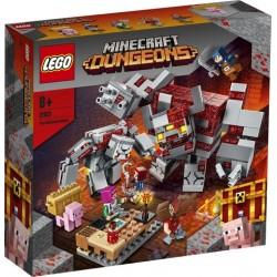 LEGO® Minecraft™  - A Vöröskő csata 21163