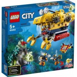 LEGO® City - Óceáni kutató tengeralattjáró 60264