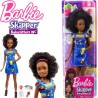 Barbie: Barna bőrű bébiszitter göndör hajjal FHY89