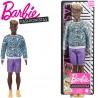 Barbie Fashionistas: Barna bőrű Ken párduc mintás pulcsiban DWK44