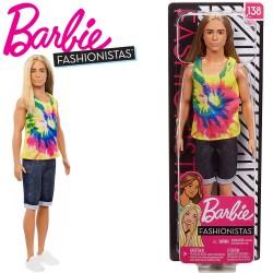 Barbie Fashionistas: Barbie egér mintás ruhában FBR37